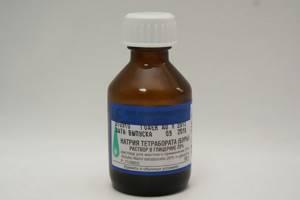 Использование Буры в Глицерине при лечении молочницы