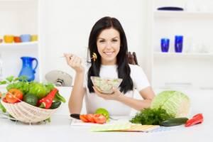 Молочница и диета: принципы правильного питания