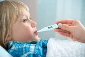 Температура после прививки от гриппа, акдс и др. у ребенка: может ли быть и что делать